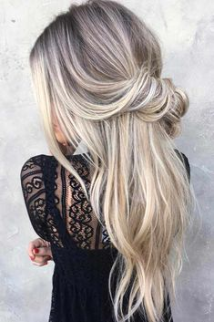 Half Up Hairstyles for Thin Hair picture 3