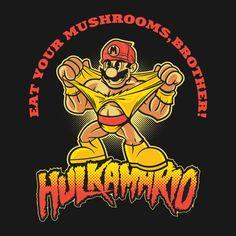 HULKAMARIO! by Brian Wade