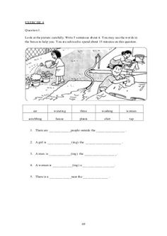 Upsr english paper 2 - section 1 - worksheets for weaker pupils 2nd Grade Reading Worksheets, Creative Writing Worksheets, English Creative Writing, Worksheets For Class 1, English Worksheets For Kids, 1st Grade Writing, English Writing Skills, Reading Comprehension Worksheets, Picture Story Writing