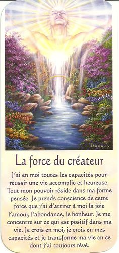 Mario Duguay- Message d'éveil La force du créateur