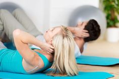 Come effettuare correttamente semplici ed efficaci esercizi per #addominali a casa.