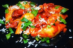 Blond Kitchen: Chorizo-pasta