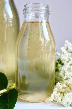 Flädersirap med vanilj & citron