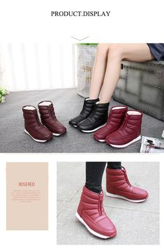 ee014f825c5 Winter Boots High quality Anti Skid. Womens ...