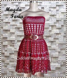 Crochê Magda Faria : Vestido Mariá