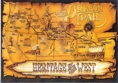 The Oregon Trail Heritage of the West Lewis & Clark expedition of 1804 paved the way for the westward exodus of an estimated 300,000 pioneers by wagon train along what became known as th...