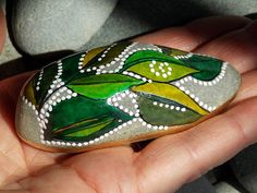 Elfs Slipper / Painted Rock / Sandi Pike by LoveFromCapeCod, $39.00