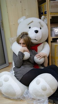 TED real big plush toy