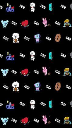 Bts Wallpaper Lockscreen Posts 17 Ideas For 2019 K Wallpaper, Korea Wallpaper, Laptop Wallpaper, Bts Backgrounds, Line Friends, Bts Drawings, Bts Chibi, Kpop, Bts Fans