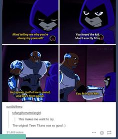 Oh I wish Teen Titans was still running
