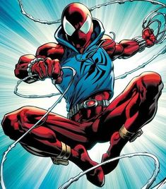 Artist Mark Bagley returns Ben Reilly to a classic and beloved look! Marvel Characters, Marvel Heroes, Marvel Comics, Spider Art, Spider Tattoo, Spider Verse, Scarlet Spider Ben Reilly, Spiderman Kunst, Cartoon As Anime