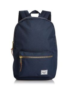HERSCHEL SUPPLY CO. Settlement Mid Volume Backpack. #herschelsupplyco. #bags #leather #polyester #backpacks #