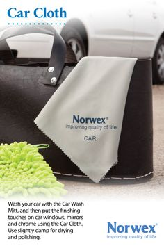 Norwex Car Cloth is made from extremely fine and tightly-woven microfiber which helps prevent the fibers from holding dirt that may scratch your vehicle. Use slightly damp on car windows,mirrors, chrome and other smooth surfaces. Use the Car cloth for drying and polishing after normal washing. Car Wash Mitt  Car Cloth Used For: Mirrors, Internal glass, LCD panels, Plastic, External glass,car finishes,Snowmobiles/boats, interior leather,stainless steel, and fiberglass.