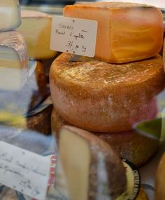 Cheese from Reims, France --> REIMS i miss you