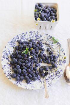 Fresh Local Blueberry | Au Petit Goût