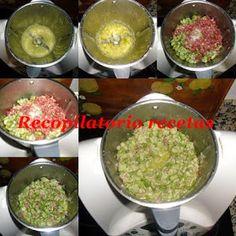 Recopilatorio de recetas thermomix: Habas con jamón en thermomix Guacamole, Mexican, Ethnic Recipes, Food, Cooking Recipes, Deserts, Ethnic Food, Eten, Meals