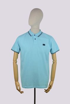 Weekend Offender Long Island Polo Shirt - Atlantic
