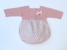 Conjunto Para Bebé: Ranita Cuello Capota Patucos por MarigurumiShop