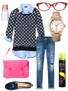 What to wear in college: For class http://www.cosmopolitan.com/celebrity/fashion/look-hot-last-minute