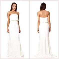 #JarloLondon Bestseller: Blaze Dress ❤❤❤ Pre-order this stunning maxi dress in ivory from the latest #HighSummer15 collection now on www.jarlolondon.com!