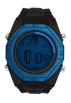 01790df929e Relógio Mormaii Digital Nautique MO3374A8A Preto Azul