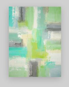 Large Original Abstract Art on Canvas Titled by OraBirenbaumArt
