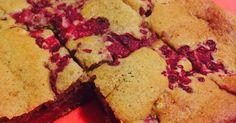 Kalorienarmer Himbeer-Haselnuss-Kuchen