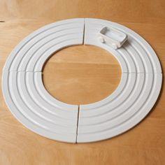 Plat apéritif porcelaine blanche (2/4 éléments) Kaiten Pa Design