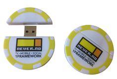 Casino Chip Shaped USB