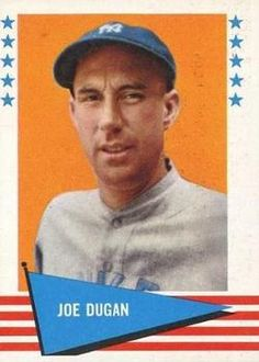 1961 Fleer Baseball Greats #103 Joe Dugan Front