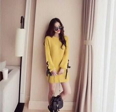 Sweaters, Dresses, Products, Fashion, Vestidos, Moda, Fashion Styles, Sweater, Dress