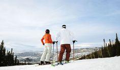 Νεαρό ζευγάρι κάνει σκι Hotel S, At The Hotel, Strawberry Park Hot Springs, Small Refrigerator, Early Settler, Fish Creek, Grab And Go Breakfast, Winter Mountain, Continental Divide