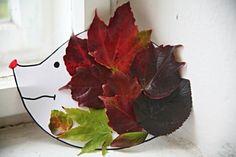 Ježek z listí - Testováno na dětech