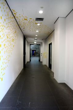 Environmental Graphics / Wayfinding for the NGV's Contemporary Art space. By Melanie Mason