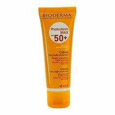 Shopping Bioderma Photoderm Max SPF Sunscreen Face Cream Very High Bio-Protection - Bioderma Photoderm Max Spf 50, Bioderma Products, Sun Care, Texture, Vaseline, Body Lotion, Sunscreen, Aloe Vera, Creme