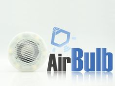 AirBulb -  a LED Bulb with Enjoyment.  What is AirBulb? AirBulb combines LED bulb and wireless speaker together at an affordable price. Integrated with Bluetooth technology, you can play music or control the lighting from your iOS or Android device.