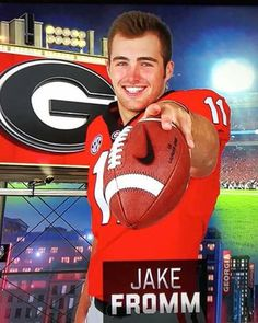 Best QB we have seen since Murray Georgia Bulldogs Football, Dog Football, College Football Teams, Best Football Team, Football Players, Bulldog Pics, Georgia Girls, University Of Georgia, Sports Stars