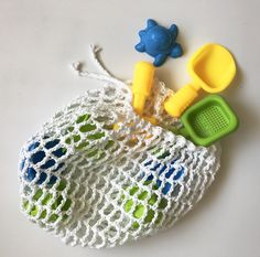 free pattern: sand toy bag