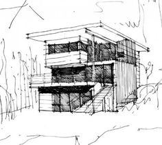 Holmes Point Residence (under construction)  Washington, USA  Designed by Leah Martin
