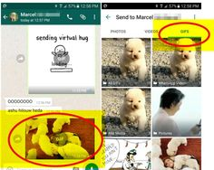 #Comunicación #gif #whatsapp Ya podemos compartir Gifs en Whatsapp