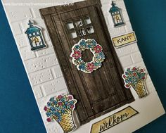 """""""At home with you"""" or the Dutch stamp set """"Thuiskomen"""", Stampin' Up! (2017/2018 New catalog)"""