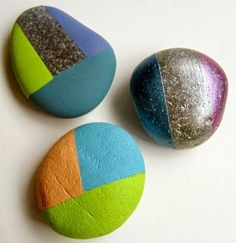 Painting Rock & Stone Animals, Nativity Sets & More: how to...Tutorial for these no drawing rocks!