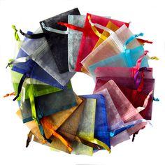 Organzazakjes leverbaar in 13 maten in diverse kleuren en modellen op www.organzastore.nl