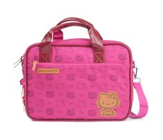 Check out Hello Kitty Travel Laptop Bag: Fun Trip Collection from Sanrio