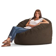 Delong Memory Foam Filled Bean Bag Chair Upholstery: Wide-Wale Corduroy Chocolate - http://delanico.com/bean-bag-chairs/delong-memory-foam-filled-bean-bag-chair-upholstery-widewale-corduroy-chocolate-612501413/