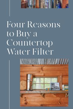 If you want an efficient and affordable way to provide you and your family with pure clean water, a countertop water filter is the perfect solution.   Learn all the reasons why in this blog post.  Just click the image to see this informative blog post. Countertop Water Filter, Water Purification, Countertops, Filters, Pure Products, Health, Outdoor Decor, Blog, Salud