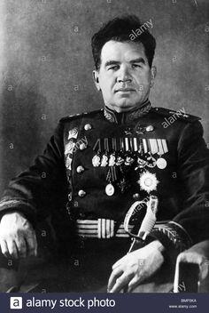 Marshal of the Soviet Union Vasily Ivanovich Chuikov, two times Hero of the Soviet Union