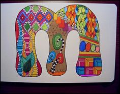 40 simple and easy doodle art ideas to try - doodle art painting Easy Doodle Art, Doodle Doodle, 5th Grade Art, Doodle Art Journals, Ecole Art, Doodle Lettering, Simple Doodles, School Art Projects, Letter Art
