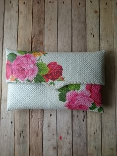 Natural Decoupage Clutch by tobucip on Etsy