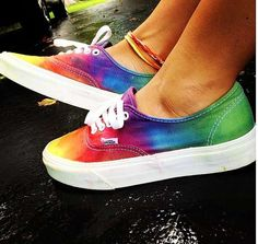 Custom Tie Dye Shoes by Shoes For The Sole